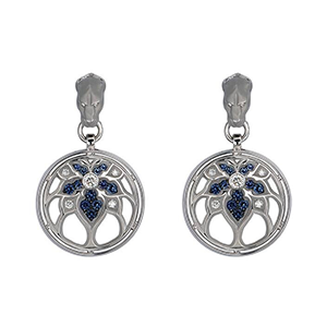 EARRINGS-VIDRIERA-ROUND