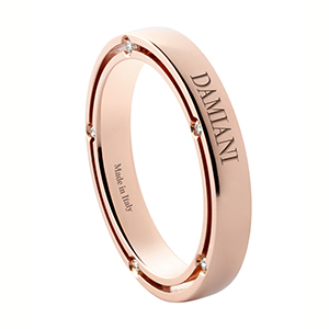 Damiani---D.Side-ring-in-pink-gold