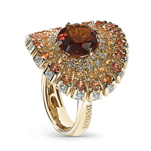 Damiani---SUFI-ring-with-a-central-madeira-quartz,-diamonds-and-sapphires20059246