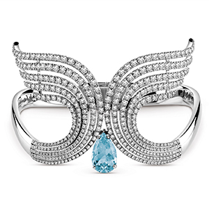Damiani---SWAN-white-gold-bracelet-with-aquamarine-and-diamonds-20060965