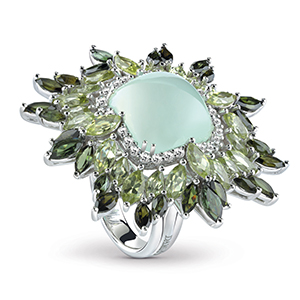 Damiani---VIVALDI-ring-with-green-chalcedony,-tourmaline,-peridots-e-diamonds-20058597